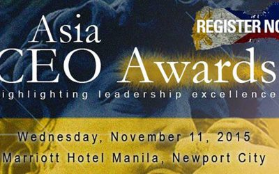 SHORE Solutions joins a list of illustrious sponsors in this year's Asia CEO Awards