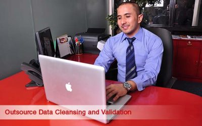Outsourced data cleansing and validation within database marketing outsourcing