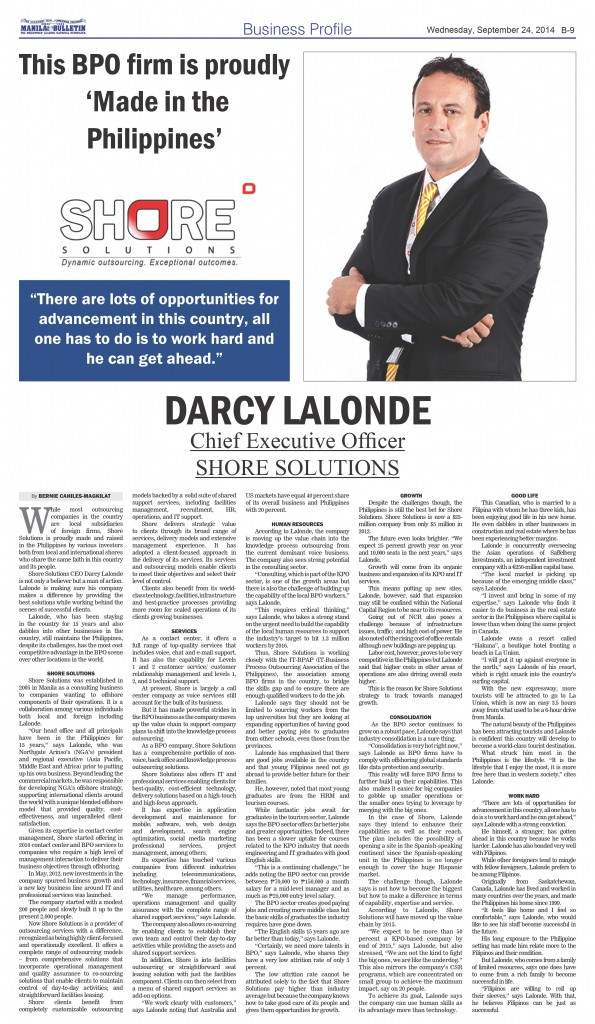 Darcy Lalonde-CEO-SHORE Solutions